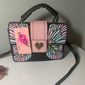 Betsey Johnson butterfly bag
